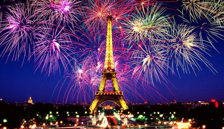 Как отметить новый год во франции